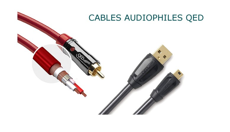 cable audiophile QED
