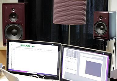 Enceinte PSI AUDIO A25 et A17
